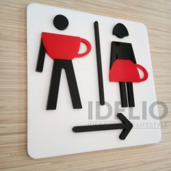 Sign Toilet IDEA 081
